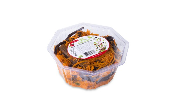 Баклажаны с морковью по-корейски 600