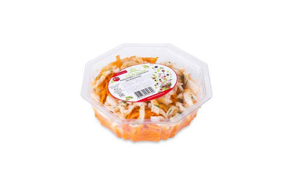 Кальмары с морковью по-корейски 400